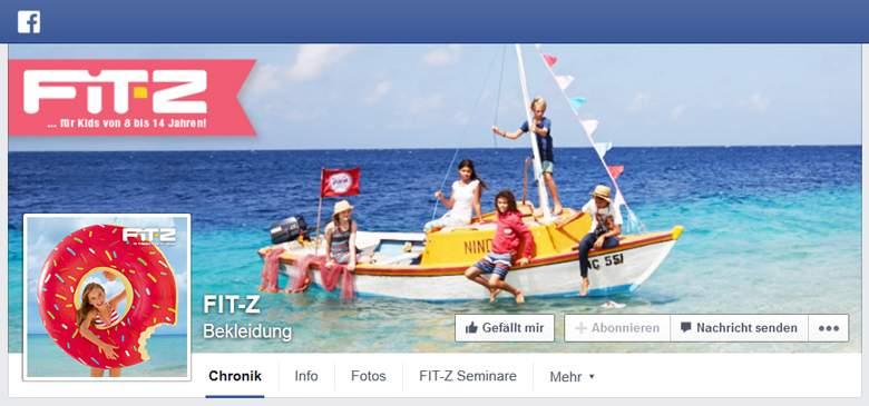 FIT-Z bei Facebook