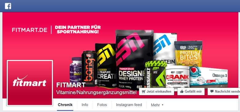 fitmart bei Facebook