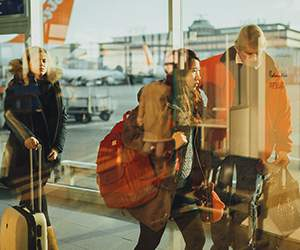 Reise mit Flugladen