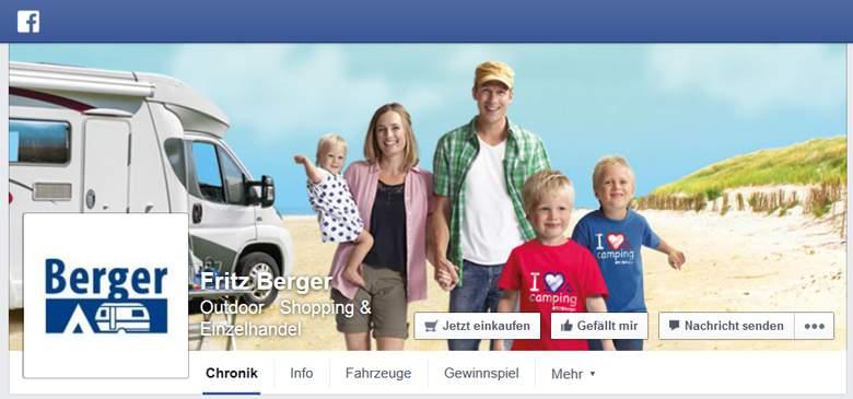 Fritz Berger bei Facebook
