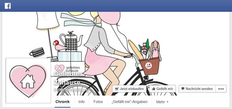 Geliebtes Zuhause bei Facebook