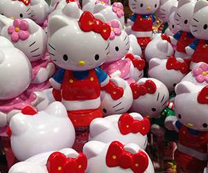 Figuren bei Hello Kitty
