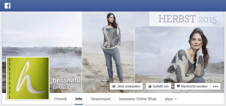 hessnatur bei Facebook