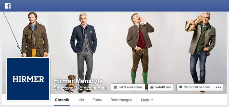 Hirmer bei Facebook