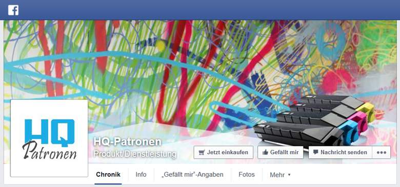 HQ Patronen bei Facebook