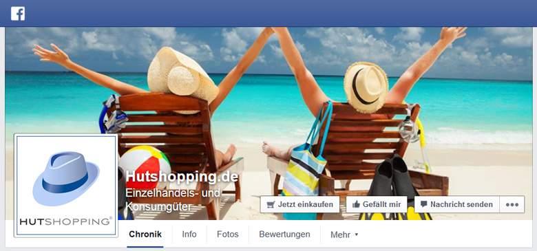 Hutshopping bei Facebook
