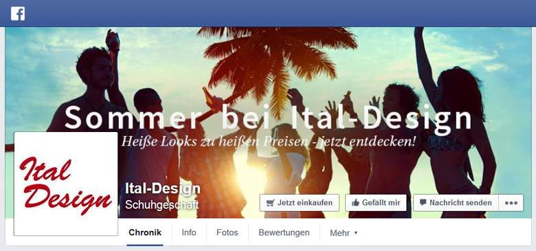 Ital Design bei Facebook