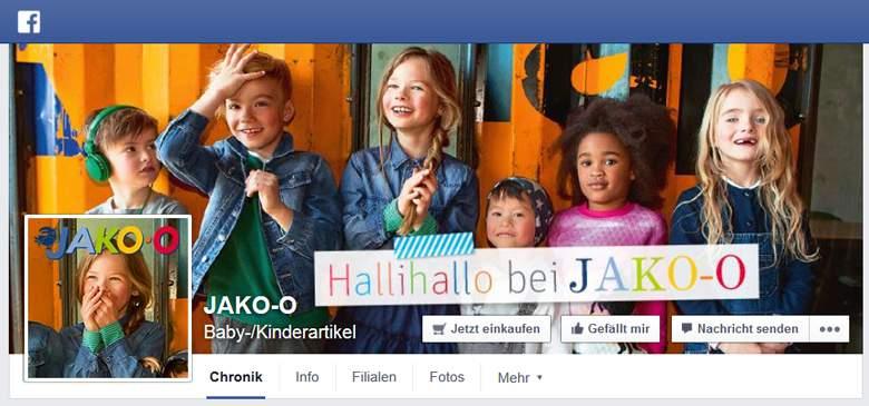 JAKO-O bei Facebook