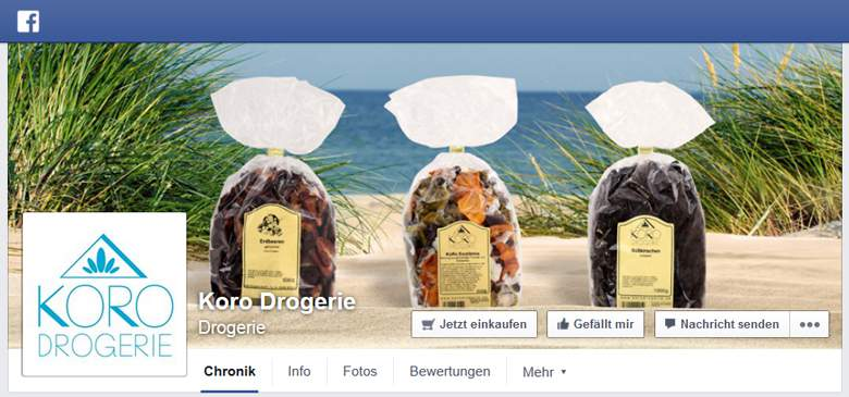 KoRo Drogerie bei Facebook