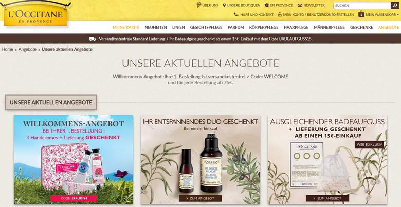 L`OCCITANE Shop