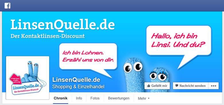 LinsenQuelle bei Facebook