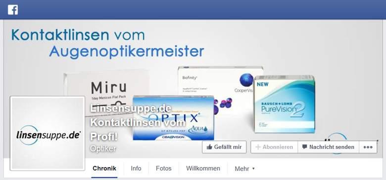 Linsensuppe bei Facebook
