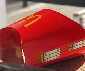 Pommes frites bei McDonalds