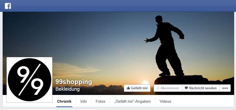 99shopping bei Facebook
