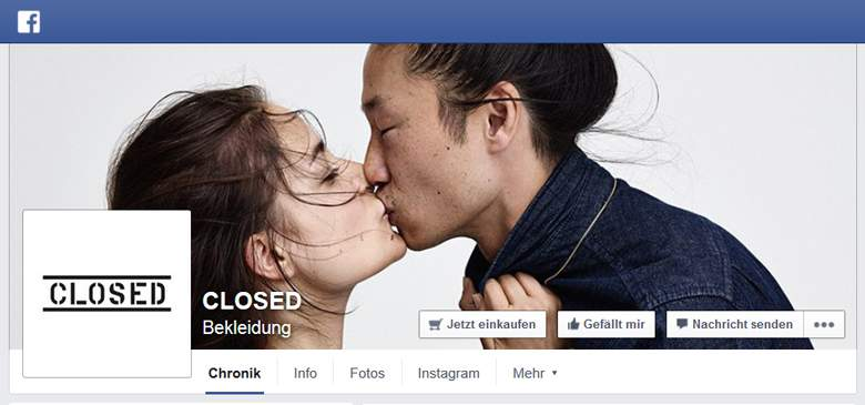 Closed bei Facebook