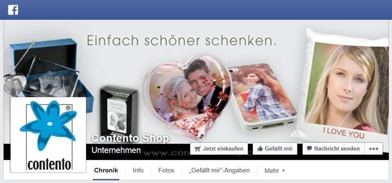 Contento bei Facebook