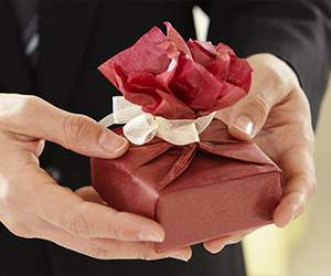 Geschenk bei Contento