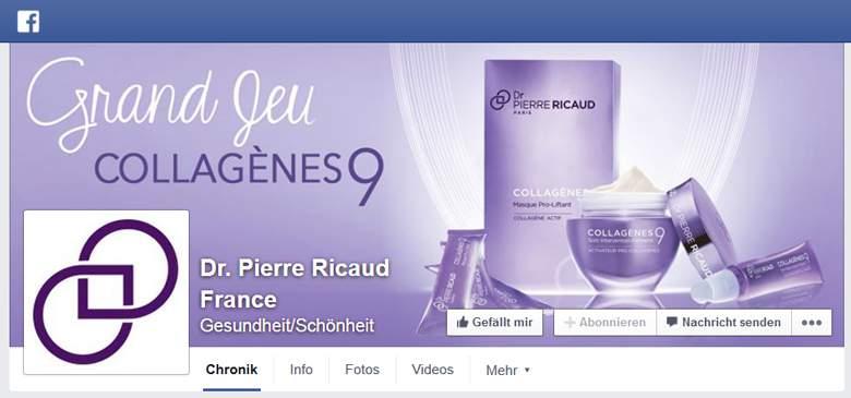 Dr. Pierre Ricaud bei Facebook