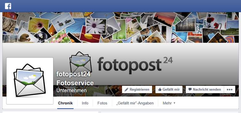 Fotopost24 bei Facebook
