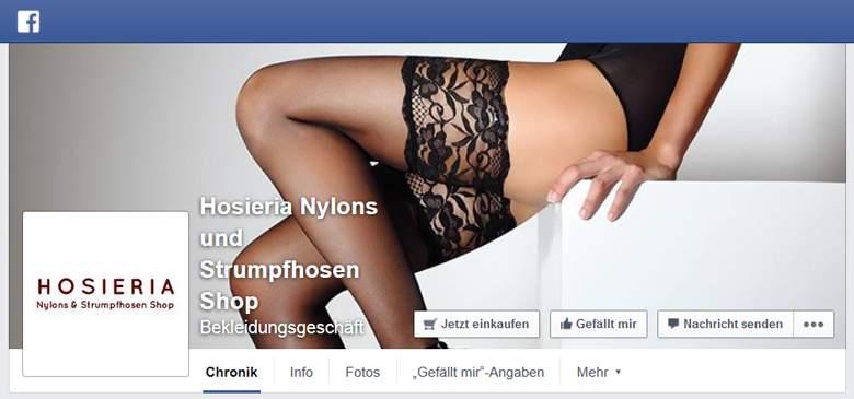 Hosieria bei Facebook