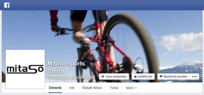 Mitaso bei Facebook