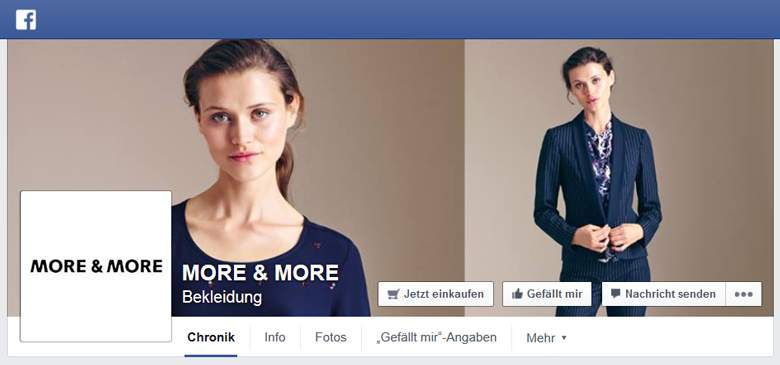 More and More bei Facebook