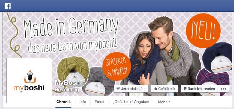 myboshi bei Facebook