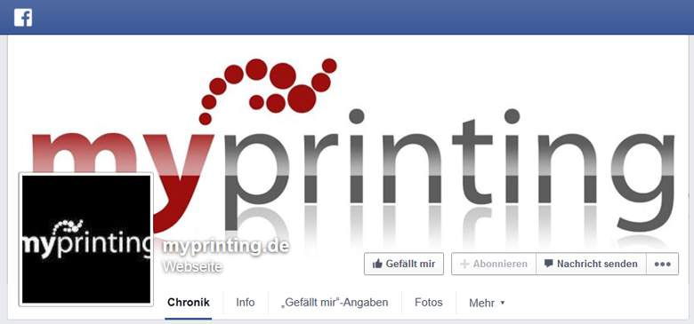 MyPrinting bei Facebook