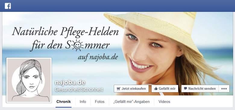 Najoba bei Facebook