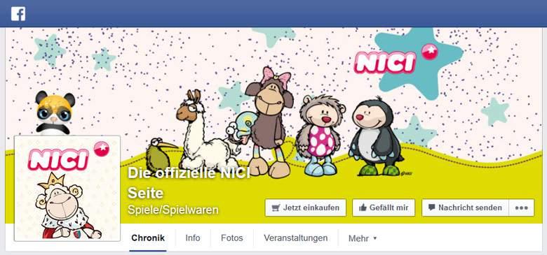 NICI bei Facebook