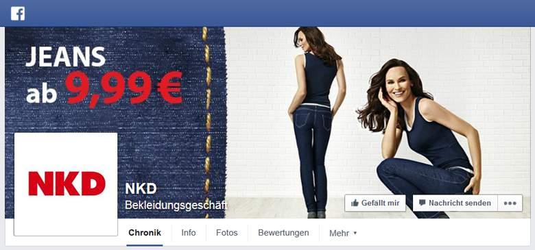 NKD bei Facebook