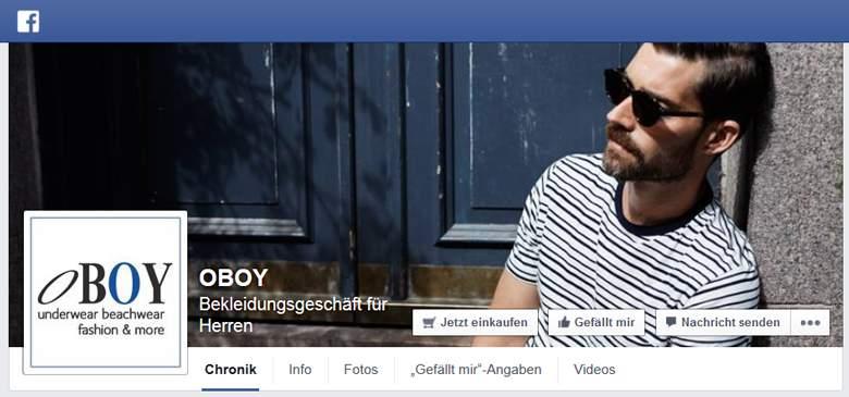 OBOY bei Facebook