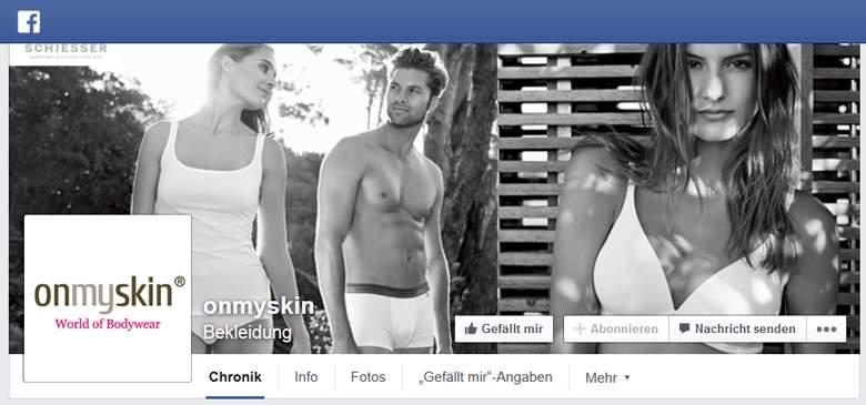 onmyskin bei Facebook