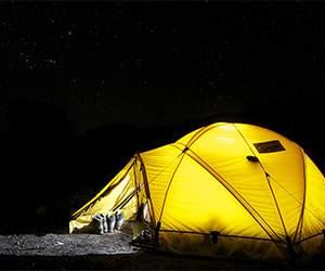 Zelt bei Outdoorspezial