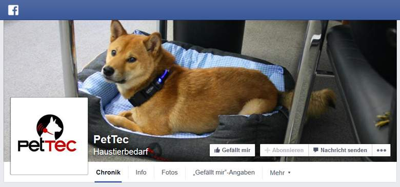 PetTec bei Facebook