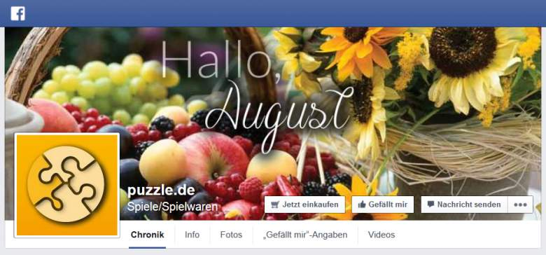 puzzle.de bei Facebook