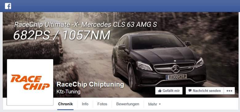 RaceChip bei Facebook