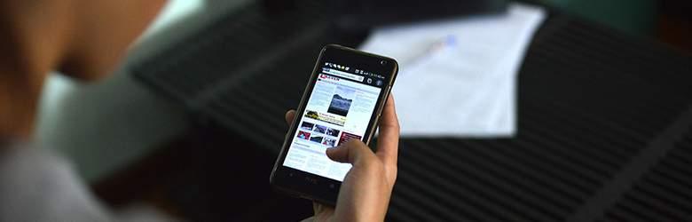 Smartphone bei Repair my Phone