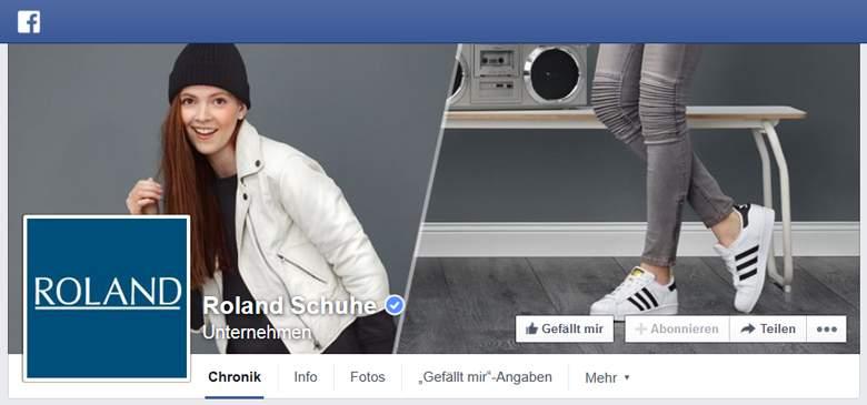 Roland bei Facebook