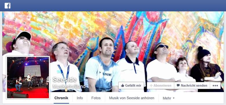 Seeside bei Facebook