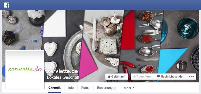 serviette.de bei Facebook