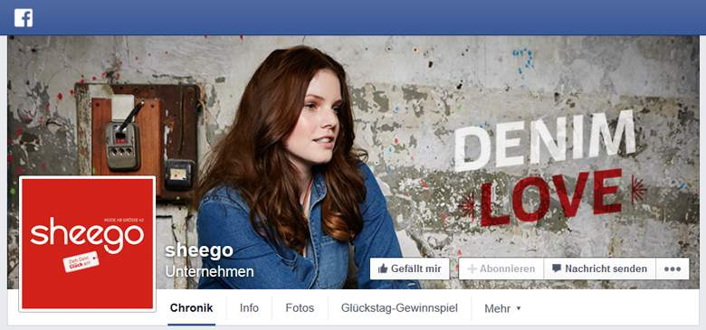 sheego bei Facebook