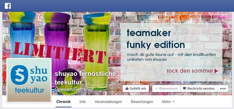 Shuyao bei Facebook
