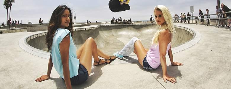 Damenmode bei Skatedeluxe