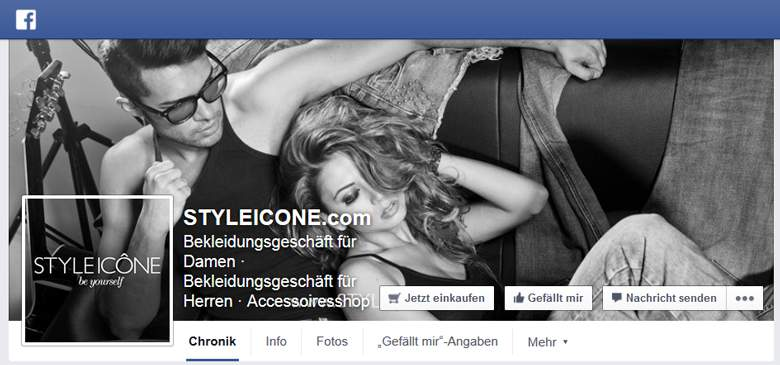 STYLEICONE bei Facebook
