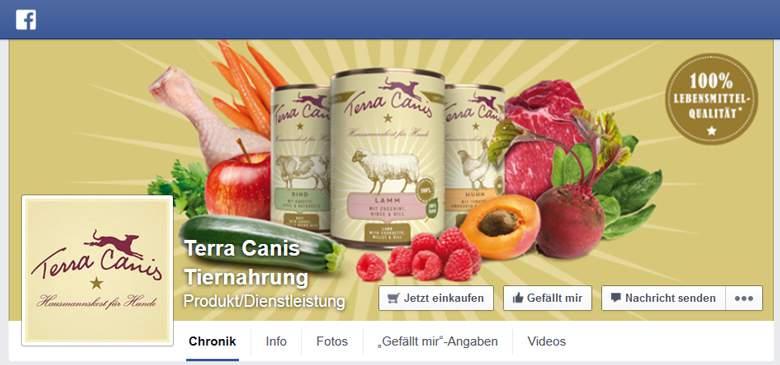 Terra Canis bei Facebook