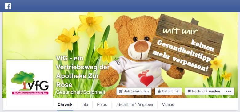 VfG Versandapotheke bei Facebook