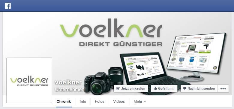 Voelkner bei Facebook