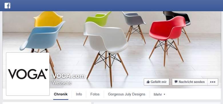 VOGA bei Facebook