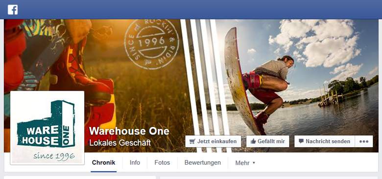 Warehouse One bei Facebook